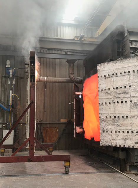 Fire testing cladding panels | Cladding Systems